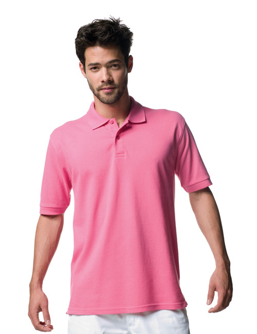 *Man Poloshirt from 100% Baumwollpiqué