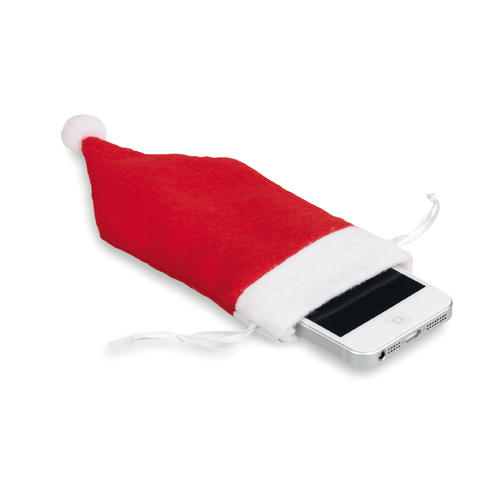 Santa Claus Sleeve for smartphone red