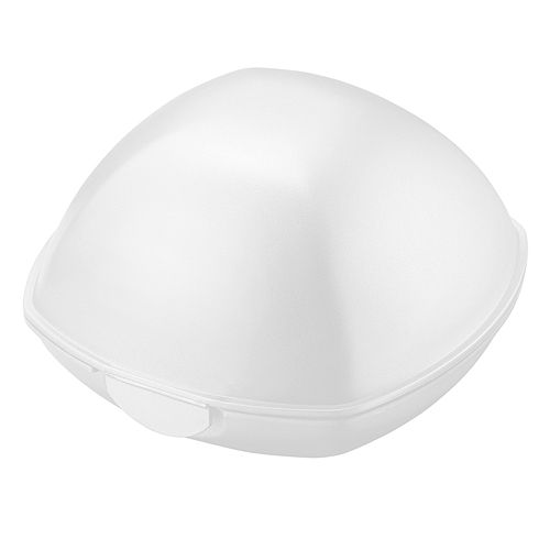 Snack Box Food Storage Box domed white