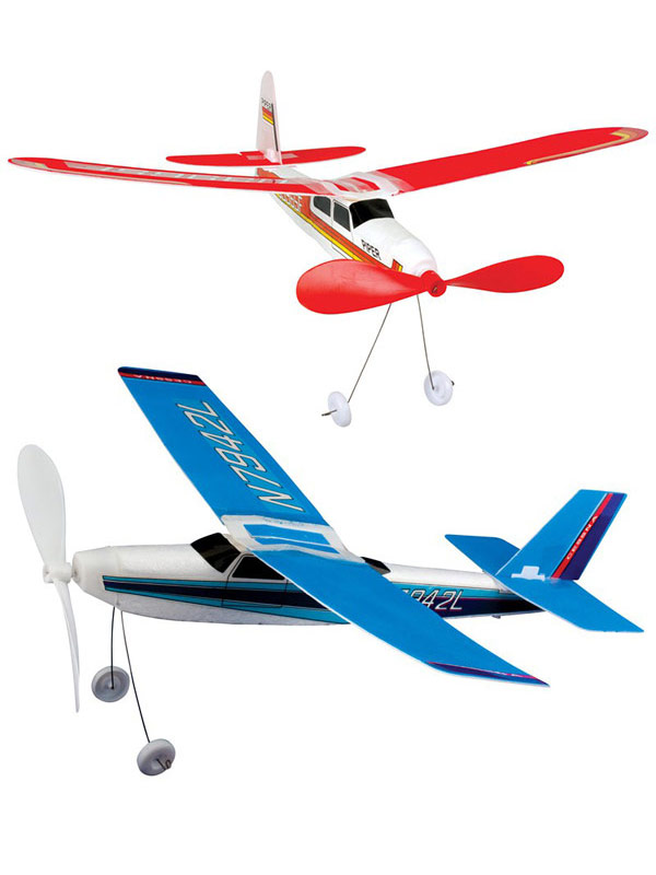 Toy Plane With Propeller twofold assorted