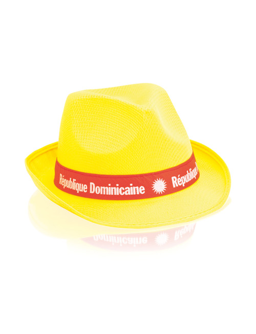 fabric Hat yellow
