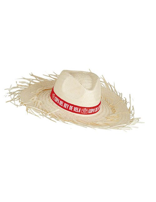 Straw Hat with Fringes