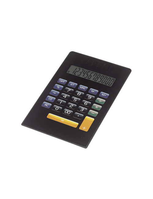 Calculator touchscreen