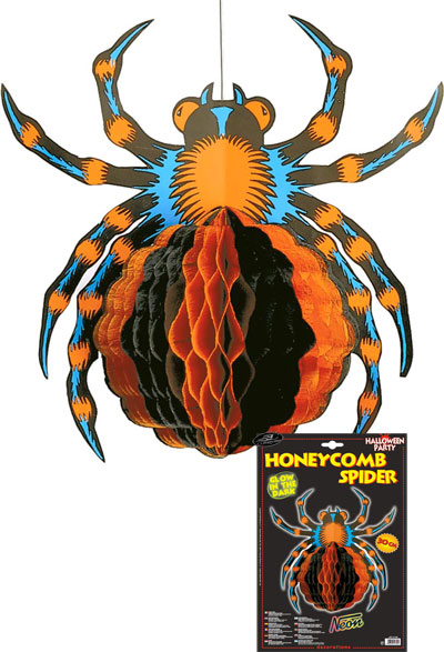 Comb decoration Spider