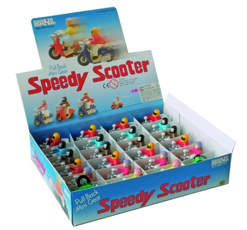 Wind-Up Motor Scooter
