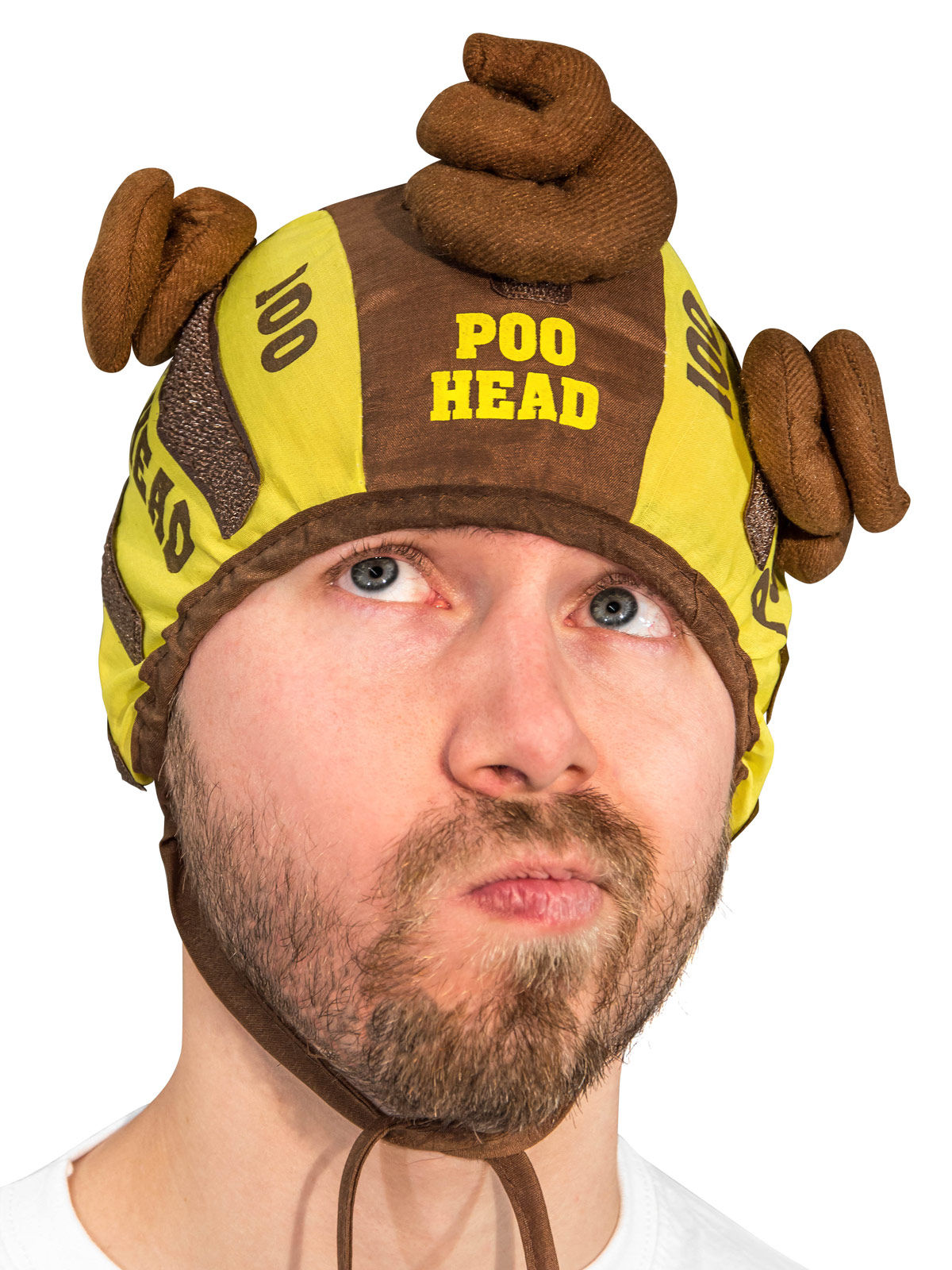 Funny Party Game Poo Head multicoloured